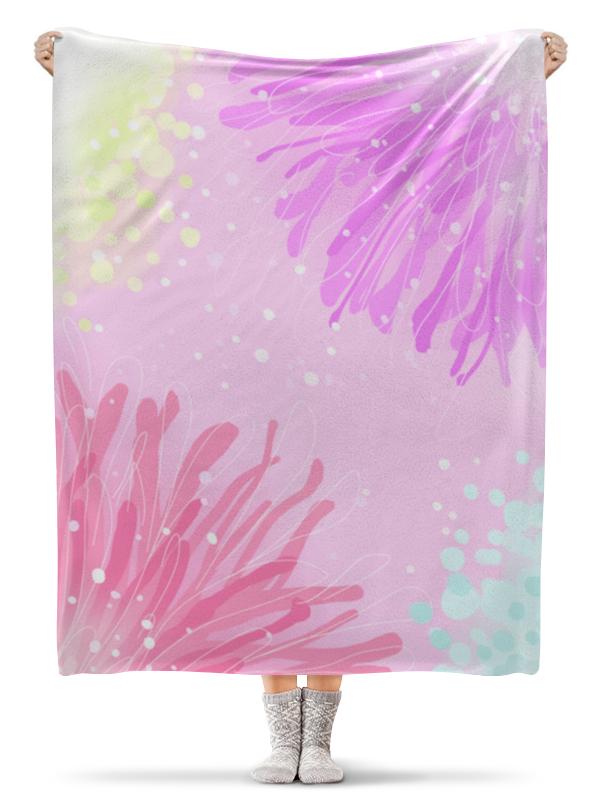 Плед флисовый 130х170 см Printio Sweet spring