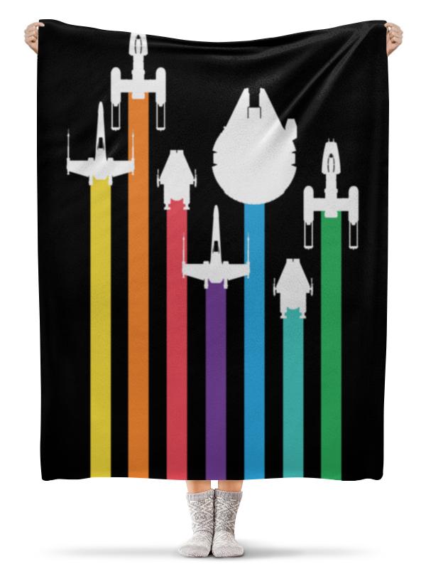 Плед флисовый 130х170 см Printio Star wars / звездные войны плед флисовый 130х170 см printio star wars звездные войны