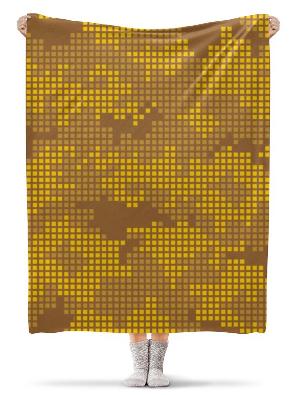 Плед флисовый 130х170 см Printio Камуфляж плед флисовый 130х170 см printio свин бэтмен