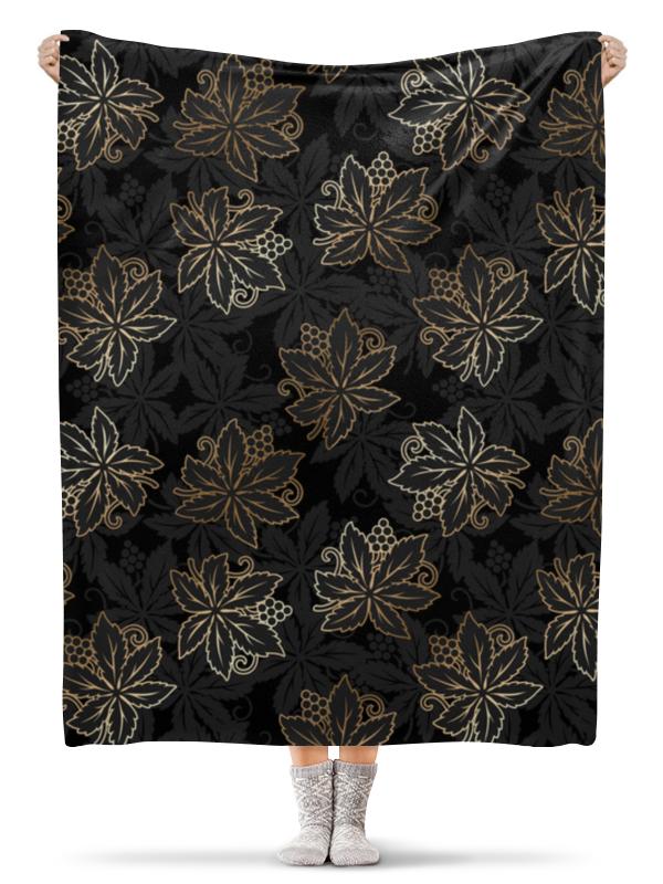 Плед флисовый 130х170 см Printio Листья плед флисовый 130х170 см printio осенние листья