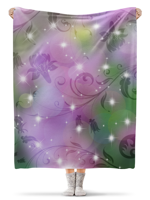 Плед флисовый 130х170 см Printio Лилия плед флисовый 130х170 см printio плед лилии