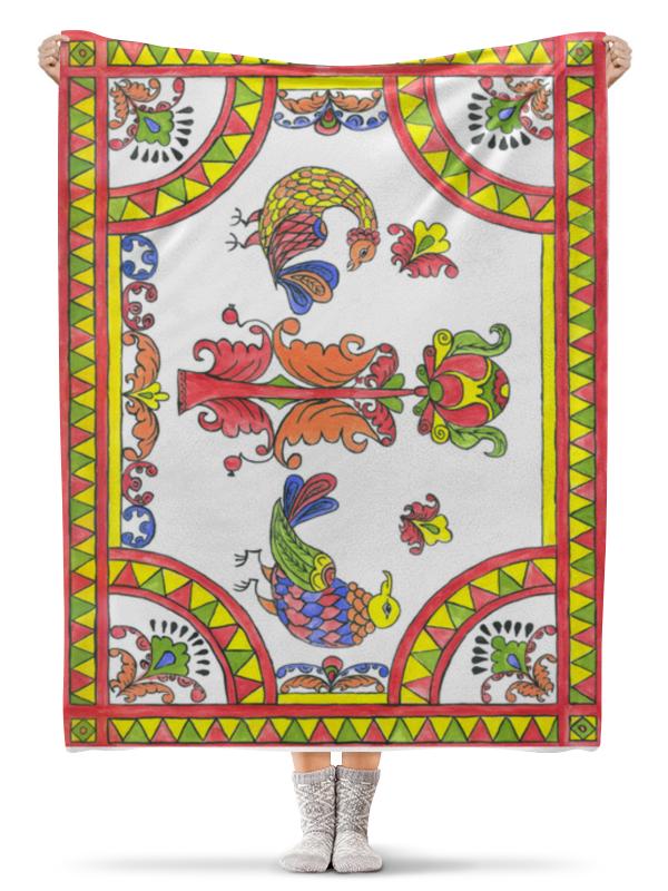 Плед флисовый 130х170 см Printio Русский стиль