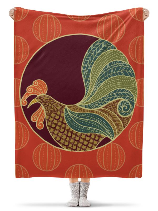 Printio Петух плед флисовый 130х170 см printio петух символ 2017 года