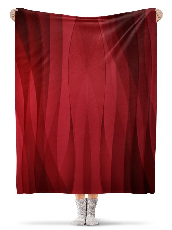 Printio Красная абстракция плед флисовый 130х170 см printio абстракция