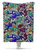 """Плед флисовый 130х170 см """"Camouflage 3D"""" - абстракция, 3d, камуфляж, милитари, арт дизайн"""