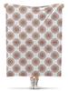 """Плед флисовый 130х170 см """"Орнамент в стиле росписи хной"""" - цветы, орнамент, этнический, индийский, мехенди"""