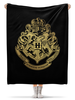 "Плед флисовый 130х170 см ""Хогвартс"" - harry potter, гарри поттер, хогвартс, hogwarts, школа магии"