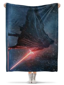 "Плед флисовый 130х170 см ""Star Wars"" - star wars, звездные войны"