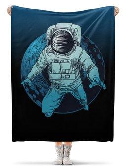 """Плед флисовый 130х170 см """"К звездам!"""" - звезды, космос, наука, астрономия, the spaceway"""