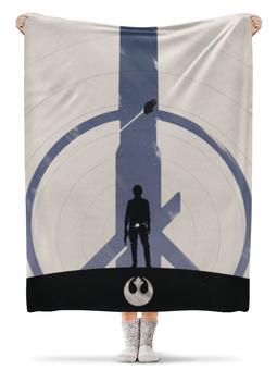 "Плед флисовый 130х170 см ""Star Wars Han Solo / Звездные войны Хан Соло"" - фильм, star wars, звездные войны, хан соло, han solo"