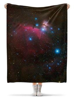 """Плед флисовый 130х170 см """"Магия космоса"""" - вселенная, звезды, магия, космос"""
