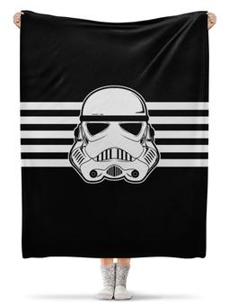 """Плед флисовый 130х170 см """"Звёздные войны"""" - фантастика, империя, звёздные войны, войска"""