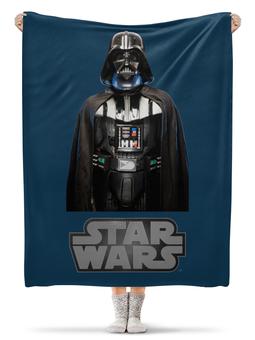 """Плед флисовый 130х170 см """"Звёздные войны"""" - кино, звёздные войны, star wars"""