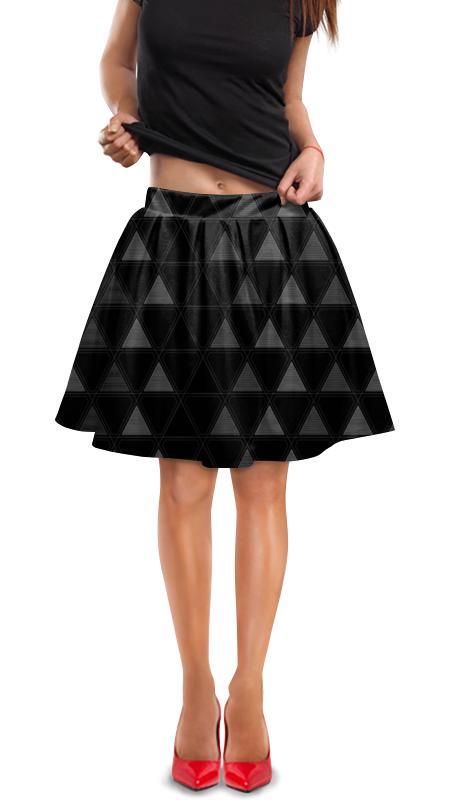 Юбка в складку Printio Треугольник юбка в складку printio химия