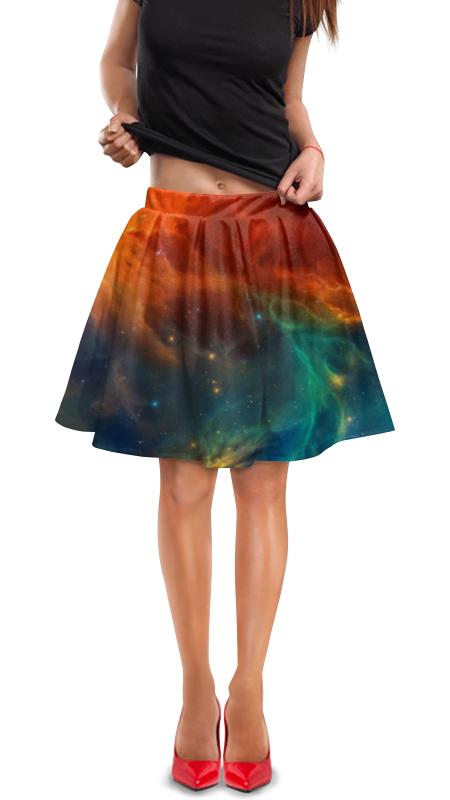 Юбка в складку Printio Космическая туманность елена бабинцева туманность андромеды часть 1