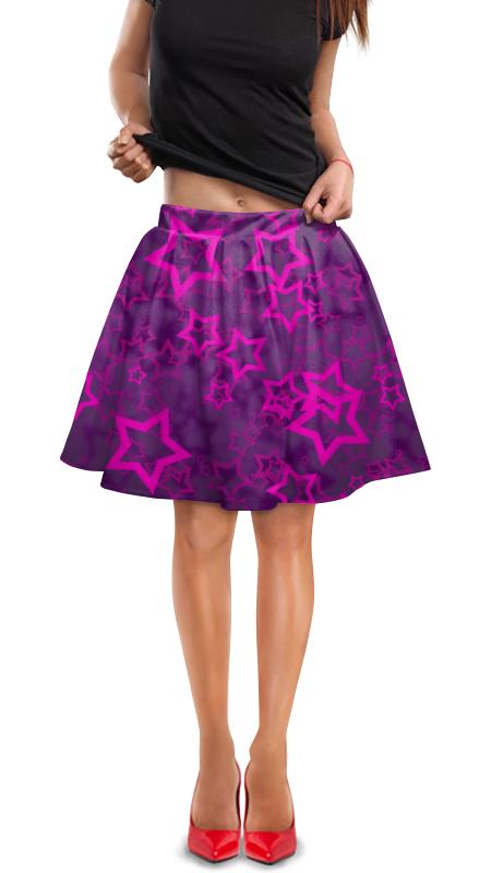Юбка в складку Printio Stars юбка в складку printio stars