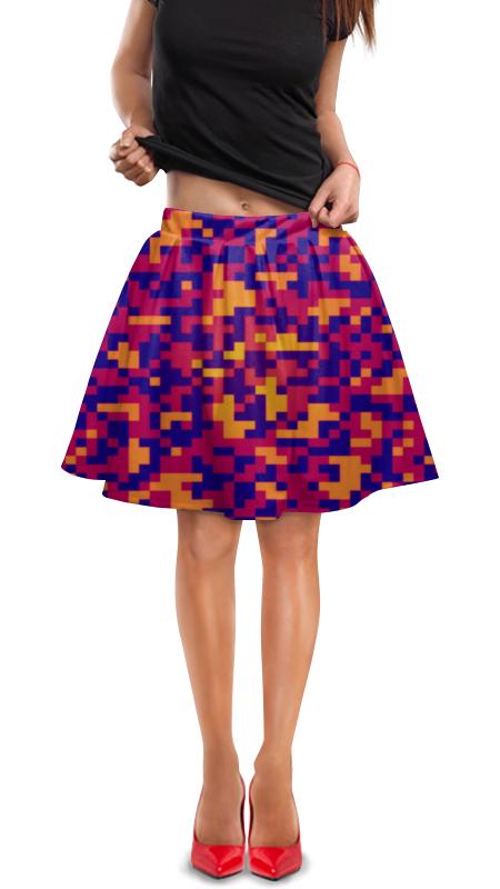 Юбка в складку Printio Camouflage юбка в складку printio стрелки