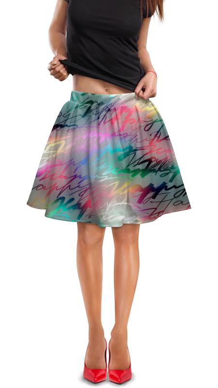 Юбка в складку Printio Модная. юбки apart юбка