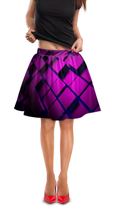 Юбка в складку Printio Кубики юбка в складку printio sihaya