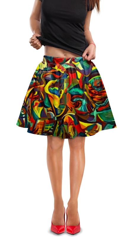 Юбка в складку Printio Картина юбка в складку printio картина