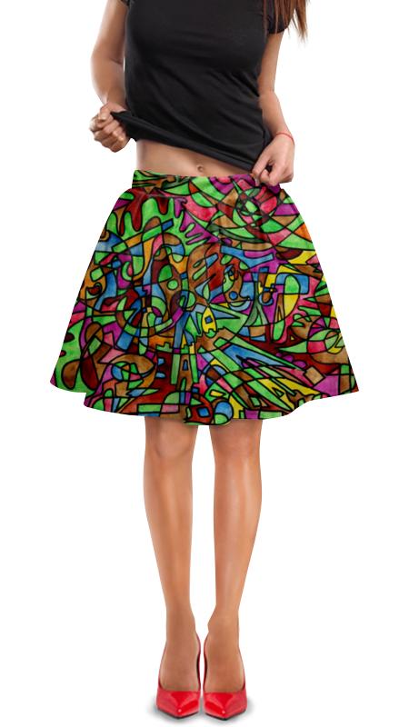 Юбка в складку Printio S`s`s-0.w юбка s cool юбка