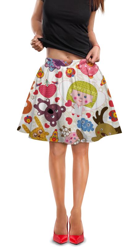 Юбка в складку Printio Игрушки юбка в складку printio игрушки на елке