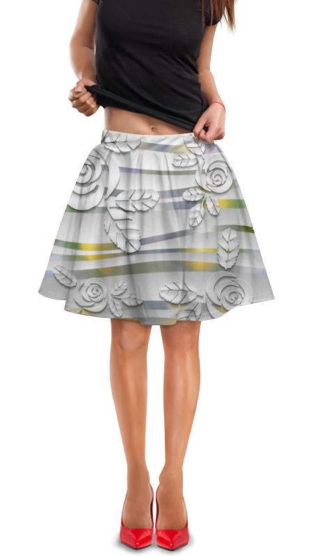 Юбка в складку Printio Орнамент юбка в складку printio молния