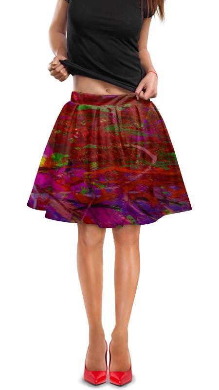 Юбка в складку Printio Произведение юбка в складку printio картина