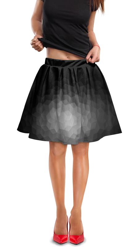 Юбка в складку Printio Абстракция юбка в складку printio радужная абстракция