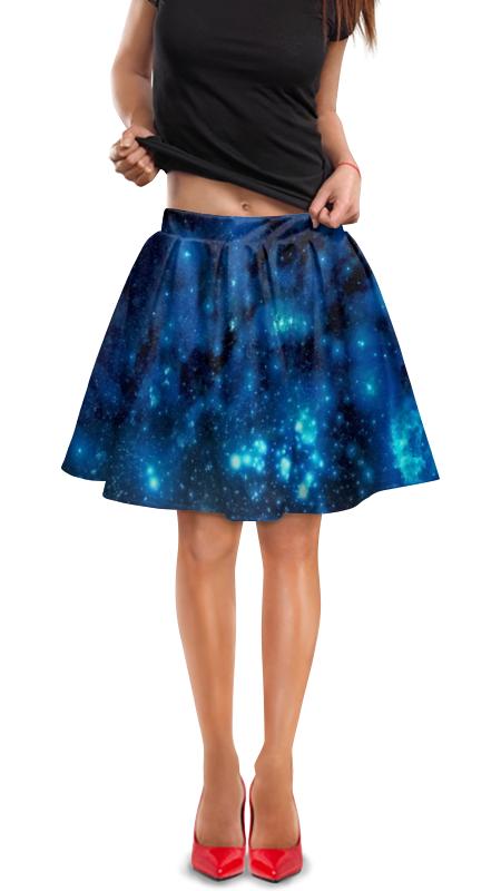 Юбка в складку Printio Звездное небо платье летнее printio звездное небо