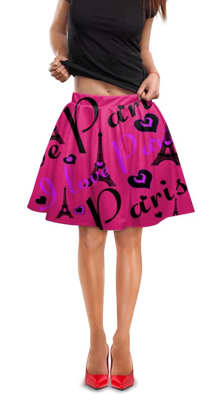 Юбка в складку Printio Париж юбка в складку printio собачки