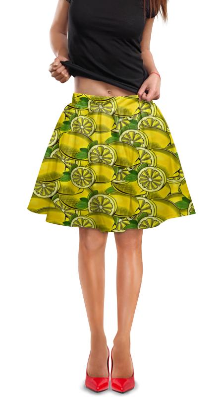 Юбка в складку Printio Лимон юбка в складку printio собачки