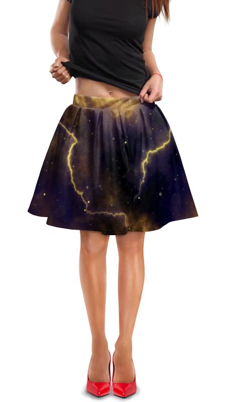 Юбка в складку Printio Молния юбка в складку printio молния