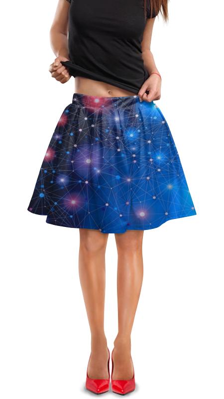 Юбка в складку Printio Звезды атакама атакама звезды