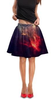 """Юбка в складку """"Величие Вселенной"""" - космос, наука, space, thespaceway, звезды"""