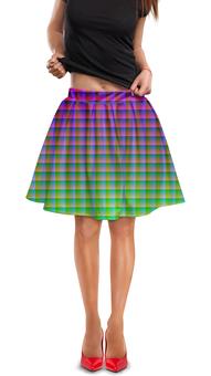 """Юбка в складку """"Optical Illusion"""" - арт, стиль, дизайн, абстракция, график"""