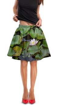 """Юбка в складку """"Лилия """" - цветы, красота, природа, популярное, лилия"""