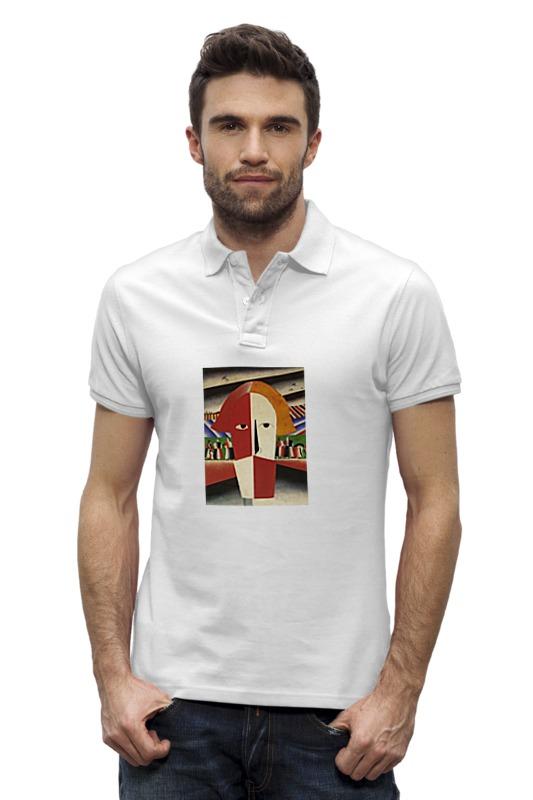 Рубашка Поло Stanley Performs Printio Голова крестьянина (казимир малевич)