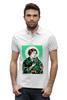 """Рубашка Поло Stanley Performs """"Преподобная Лея"""" - прикол, star wars, звездные войны, икона, leya"""