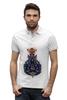 "Рубашка Поло Stanley Performs ""Легенды майя"" - оригинально, парню, креативно"