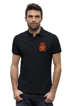 """Рубашка Поло Stanley Performs """"23 Февраля"""" - ссср, россия, парню, день защитника отечества, кокарда"""