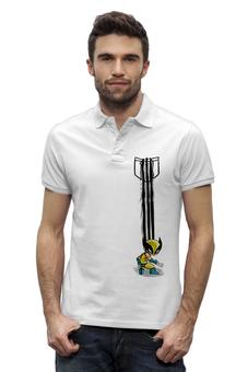 """Рубашка Поло Stanley Performs """"Росомаха"""" - комиксы, росомаха, люди икс, marvel, x-men, wolverine"""