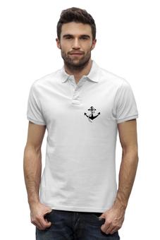 """Рубашка Поло Stanley Performs """"якорь """" - якорь, anchor, sailor, моряк"""