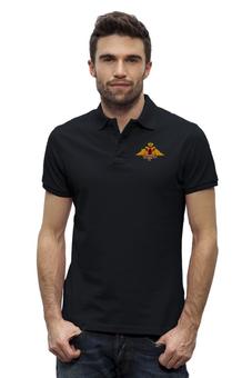 """Рубашка Поло Stanley Performs """"Вежливые люди"""" - армия, россия, герб, вооружённые силы, двуглавый орёл"""