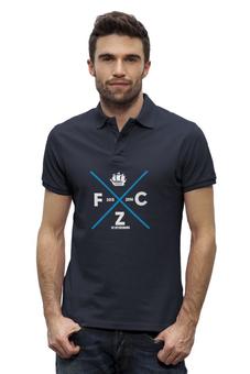 "Рубашка Поло Stanley Performs ""FC Zenit by Design Minsitry"" - зенит, футбол, питер, zenit, designminsitry"