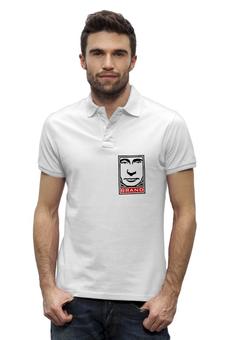 """Рубашка Поло Stanley Performs """"brand"""" - стиль, мода, путин, бренд, putin"""