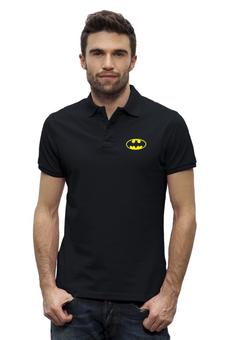 """Рубашка Поло Stanley Performs """"Batman"""" - comics, batman, бэтмен, супергерой, dc, superhero"""