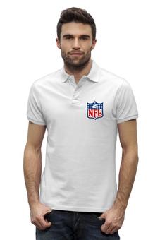 "Рубашка Поло Stanley Performs ""NFL"" - nfl, американский футбол, american football, нфл"