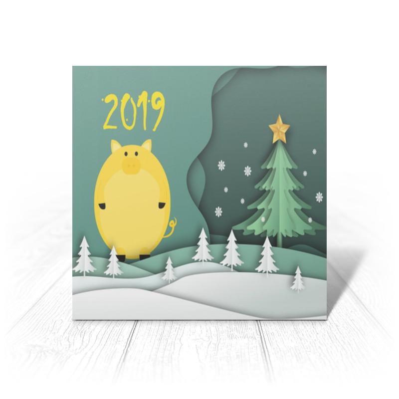 Открытка Printio Новый год худи print bar новый год