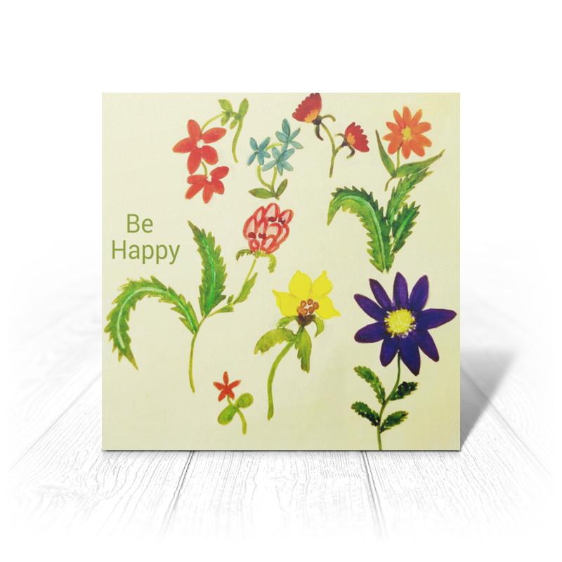 Открытка Printio Весна арт дизайн подарочный набор открытка с ручкой самой фееричной тебе